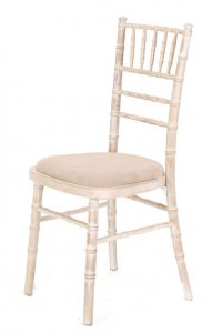 chiavari chair cream seatpad
