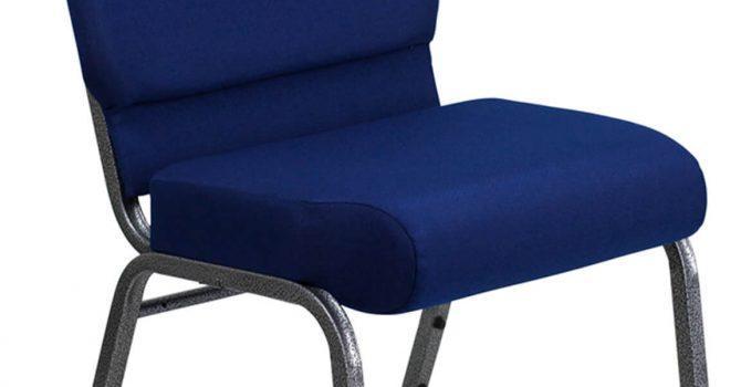 Blue Church Chair